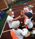 В «Созвездии» знакомили ребят с профессией футбольного тренера